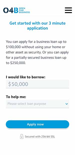 Heartland Bank Business Loans Start Application
