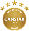 Heartland Bank 2019 Canstar Savings Bank Award