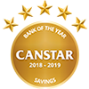 Heartland Bank 2018 - 2019 Canstar Savings Bank Award
