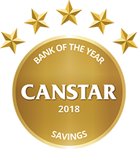 Heartland Bank 2018 Canstar Savings Bank Award